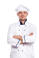 Chef with arms crossed