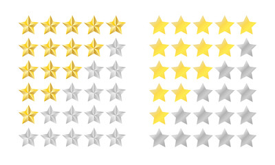 Star rating set