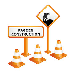 Page web en construction.