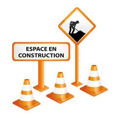 Espace client ou accès en construction.
