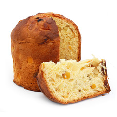 Panettone - Sweet Italian bread loaf