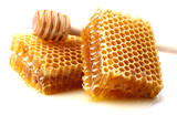 Honeycombs with spoon