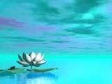 Lily flower - 3D render