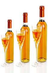 Bottiglie di vino liquoroso+-