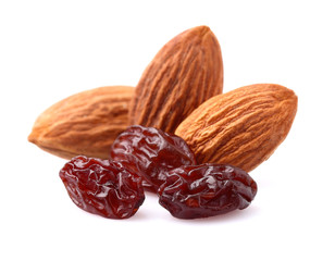 Nuts with raisins