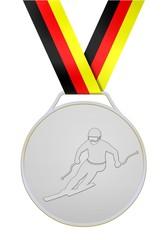 Silberne medaille deutsche skiläufer