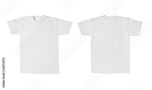 canvas print picture white t shirt template cotton fashion