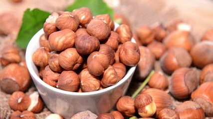 Rotating Hazelnuts (loopable Full HD Video file)