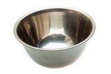 Empty metall bowl