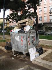 rifiuti in città