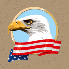 The national symbol of the United States of America
