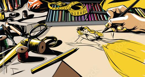 Дизайн одежды - 61277717