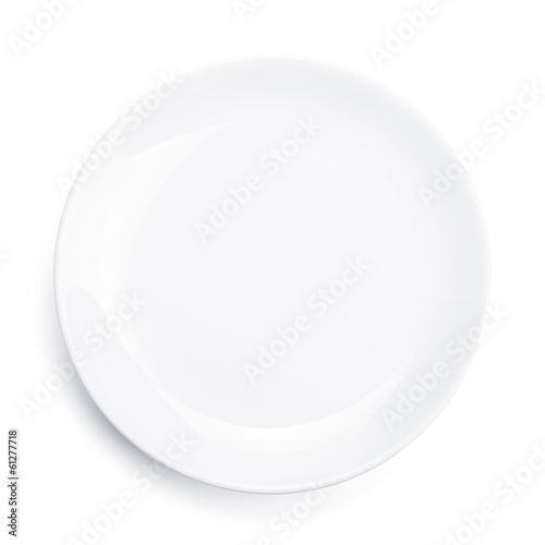 Empty plate - 61277718