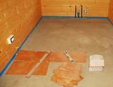 Incomplete Floor Tiling poster