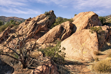 Geologic Trail at Vasquez Rocks
