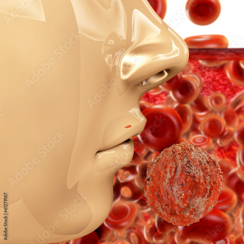 Hiv Virus - 3d Render