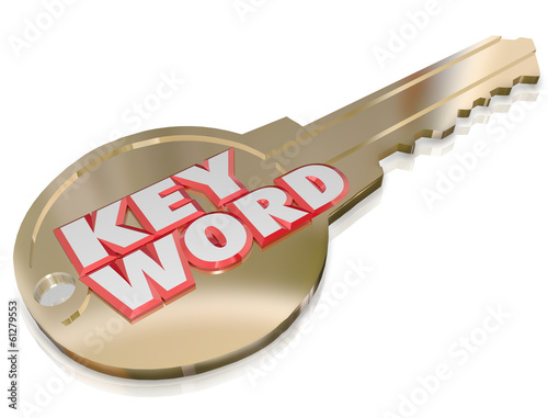 Keyword Gold Key Password Security Optimizaiton Access