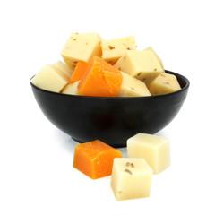 Cubes de fromages