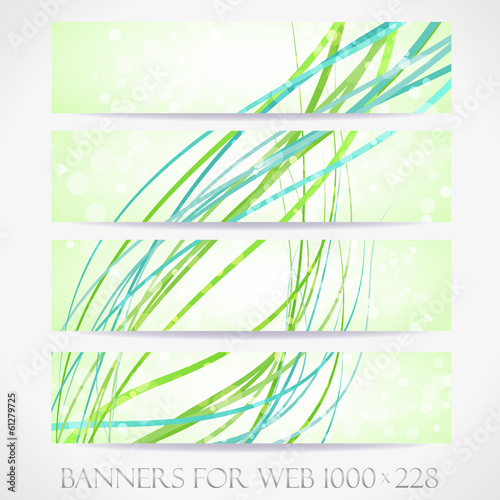 Banners for web. (Vector collection13)