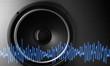 Lautsprecher mit Schwingungen