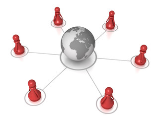 Global pawn connection