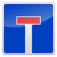 Verkehrszeichen - Sackgasse