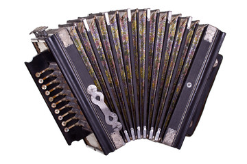 very old accordion