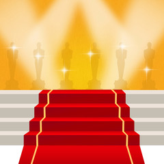 illustration of red carpet