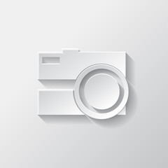 Photo camera icon. Photography.