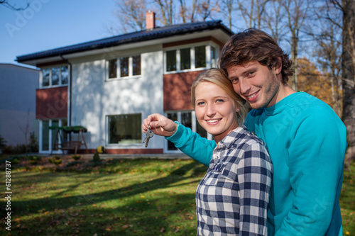 Couple's new house