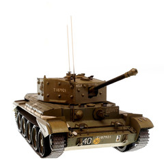 scale model of tank from WWII