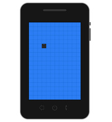Mobile dead pixel