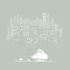 都会の森-1