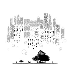 都会の森-5