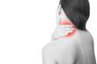 Pain in neck of women