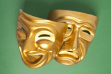 Comedy and Tragedy theatrical mask