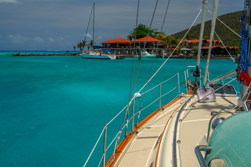 Caribbean Sailboat