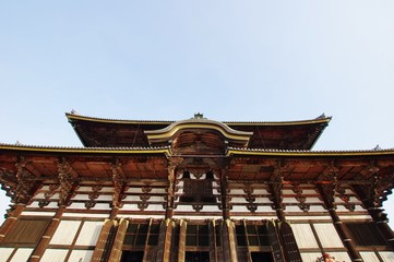 LARGE TEMPLE Tohdaiji-temple 東大寺大仏殿