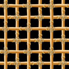 bamboo trellis seamless