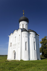 Church of the Intercession on the river Nerl. Vladimir. Russia