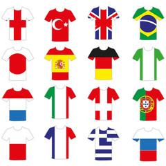 T-Shirt Flaggen