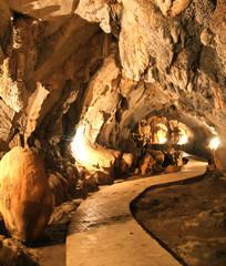 Tum Jung Cave in Vang Vieng, Laos.