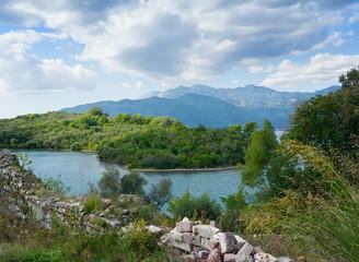 Island of Sveti Marko in Bay of Kotor, Montenegro