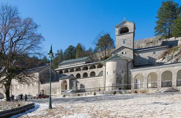 Cetinje Monastery. Montenegro. Winter