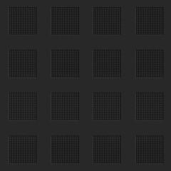 Abstract lattice black seamless background