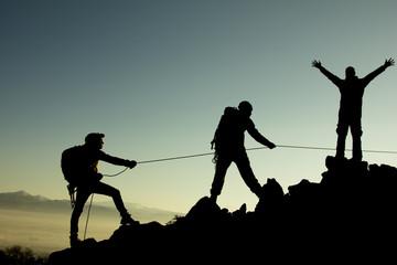 dağcı ekibi
