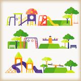 set of playground