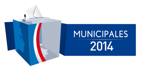 Urne - Elections municipales 2014