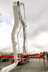 Crane detail in a construction aerea