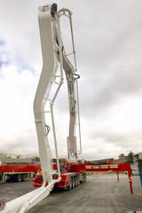Crane detail in a construction aerea